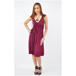Annee Matthew Ivana Tie Dress