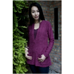 Annee Matthew Two-Tone Sweater