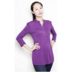 Pleated Bib Tunic by Annee Matthew