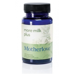 Motherlove More Milk Plus Vegetarian Capsules - 60 Ct